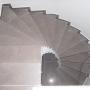 Création d'un escalier d'intérieur en béton