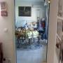 Porte vitrée intérieur maison