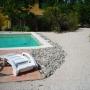 Bordure de plage piscine