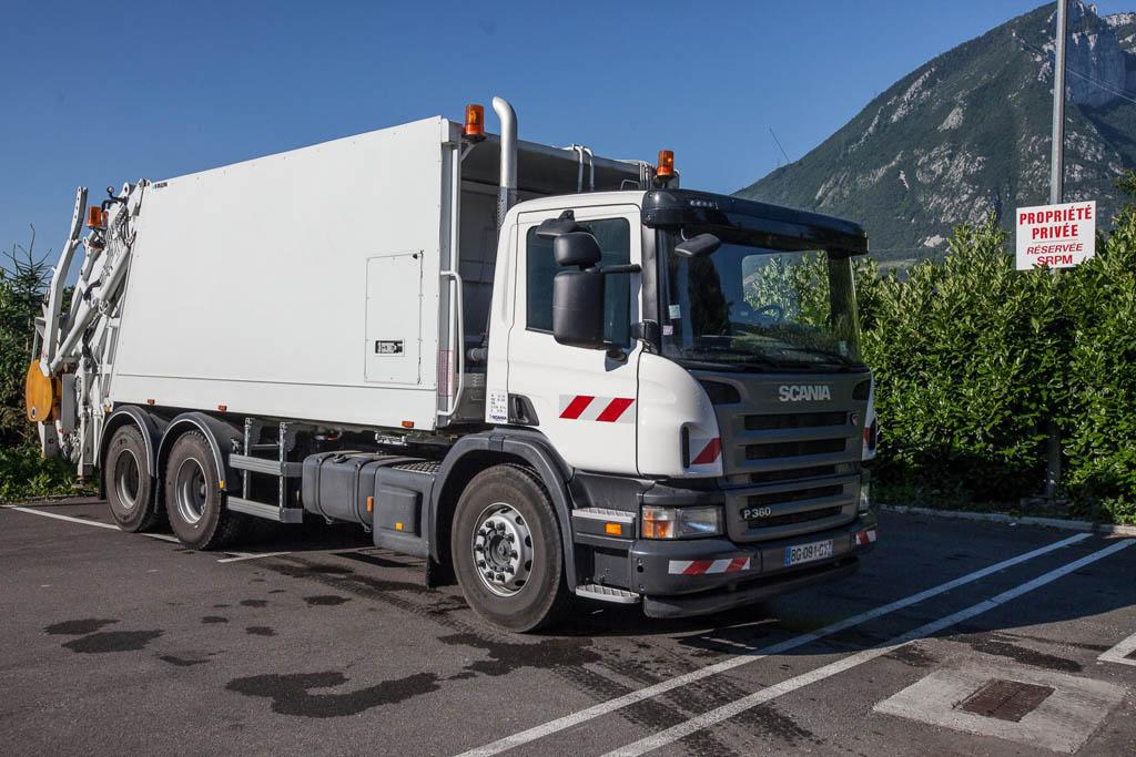 Srpm bennes et camions fontanil pr s de grenoble - Location camion grenoble ...