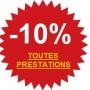 10% de remise sur toute prestation effectuée par votre plombier parisien ! Contactez-nous !