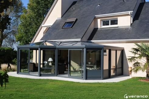 D couvrez nos mod les de v randas et pergolas dans la marne v randa co - Modele de veranda contemporaine ...