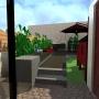 Aménagement terrasse, Lille Fives 1