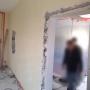 Ouverture mur porteur cintrée 3m AVANT 1/4