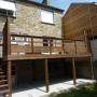 Terrasse tout bois à Saint Malo