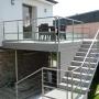 Terrasse sur poteaux en composite
