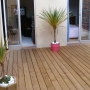 Terrasse en Pin thermo-traité