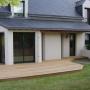 Terrasse en bois premium