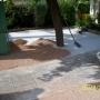 Terrasse en gavier