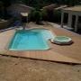 Plage piscine