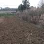Préparation du sol avec une rotobeche