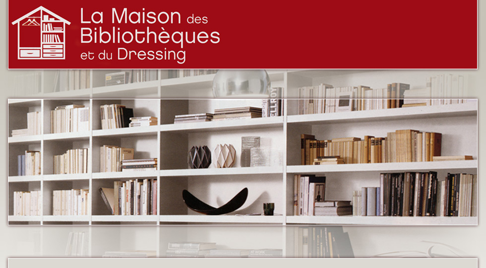La maison des biblioth ques et du dressing - Maison des bibliotheques ...