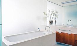 Salle de bain entièrement rénovée