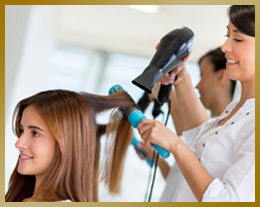 Notre salon de coiffure indien