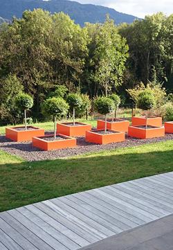Aménagement paysager du côté de Chambéry