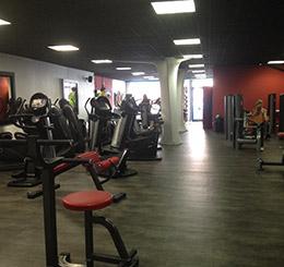 Notre espace cardio, fitness et musculation