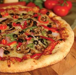 Pizza au feu de bois dans le Rhône