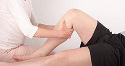 Soin ostéopathique de la jambe