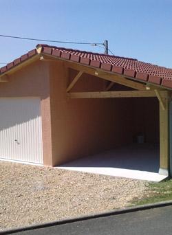Fabricant de garages et abris préfabriqués en béton près de Louhans