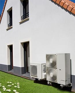 installation de votre pompe à chaleur avec Dumolard SAS