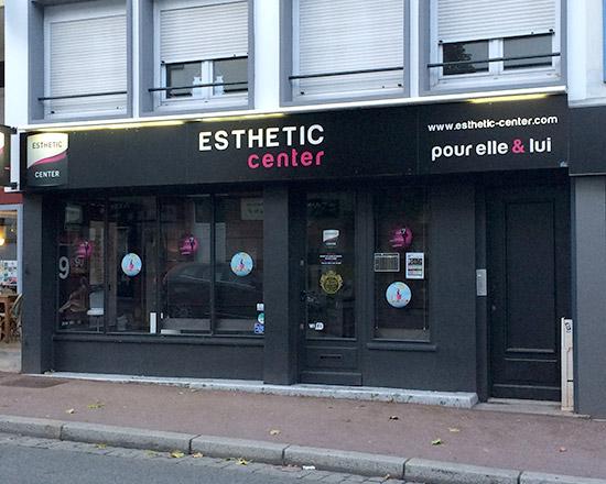 Devanture de notre institut à Lorient