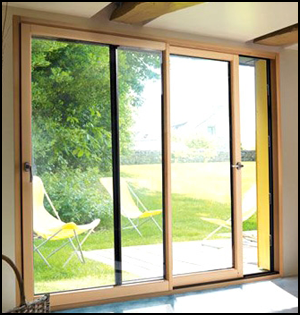 Fen tres portes fen tres coulissants galandage for Bois de finition interieur