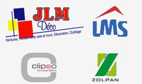 Nos fournisseurs : JLM, LMS, Zolpan, Slipso