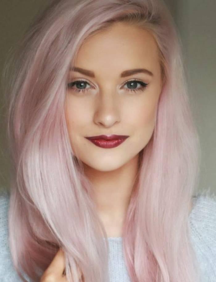 Le blond-fraise désigne un blond que l'on vient réveiller de ...