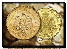 achat d'or pièces