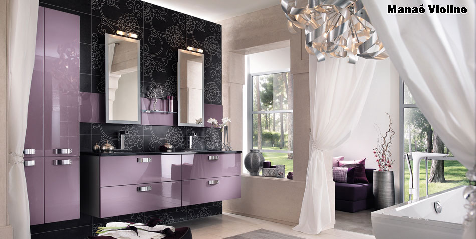 la salle de bain de vos r ves chez cuisinella pictures to pin on pinterest. Black Bedroom Furniture Sets. Home Design Ideas