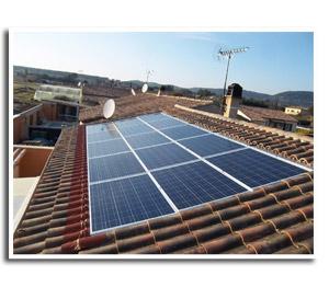 Pose de panneaux photovoltaiques