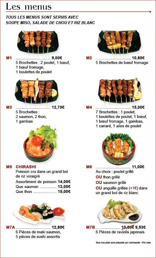 Restaurant japonais aux sp cialit s japonaises sushis maki sashimi avec toyama wan houilles - Restaurant japonais cuisine devant vous ...