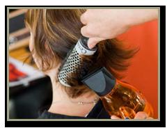 coiffure brushing