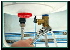 Réparation sous évier par les plombiers d'Abitalp en Isère