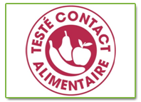 label contact alimentaire