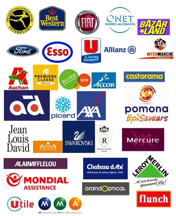Logos des clients de Accleaner Net Clim à Marseille