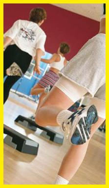 Fitness Park à Annemasse, séance de fitness, cours collectif, salle de sport