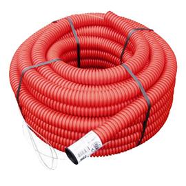 gaine électrique extérieure rouge