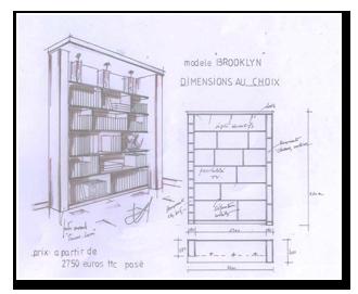 La maison des biblioth ques les prix du sur mesure lyon - Devis meuble sur mesure ...