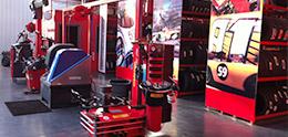 Intérieur de notre garage