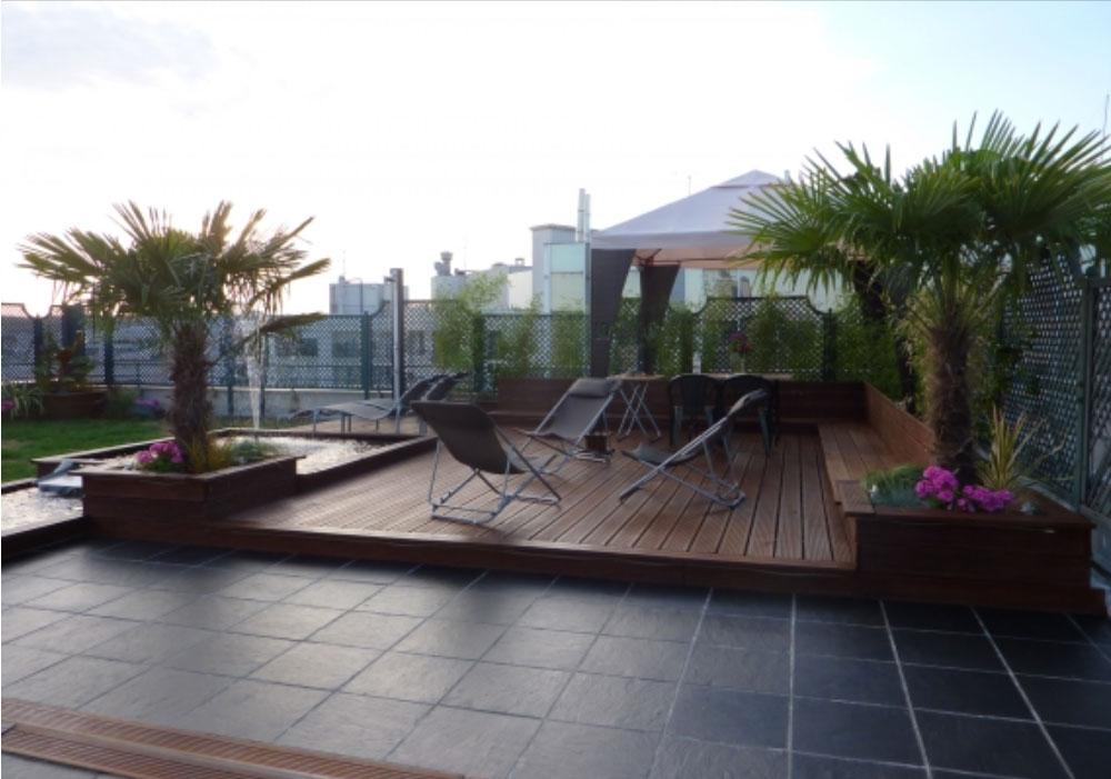 Patrice lemaire paysage paris fleurs plantes paris for Decoration jardin avec palmier