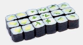 Menu Green Maki, plateau repas maki chez Perle Sushis à Caluire