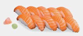 Menu Salmon's Day, plateau repas Sushis saumon chez Perle Sushis à Caluire