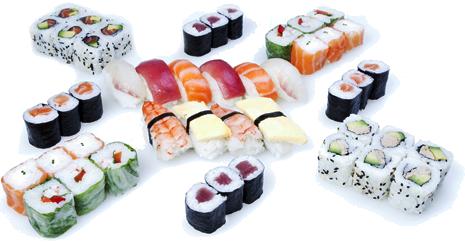 Menu Alchimie de chez Perle Sushi