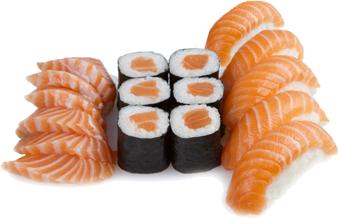 Parure Saumon Perle Sushi
