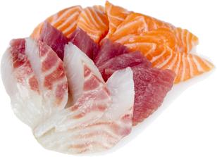 Sashimi mixte chez Perle Sushis à Caluire