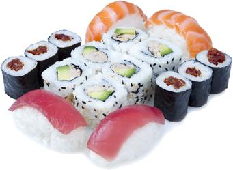 Menu Sushi Lover chez Perle Sushi