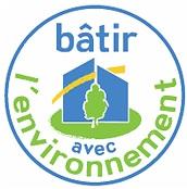 Logo Bâtir avec l'environnement