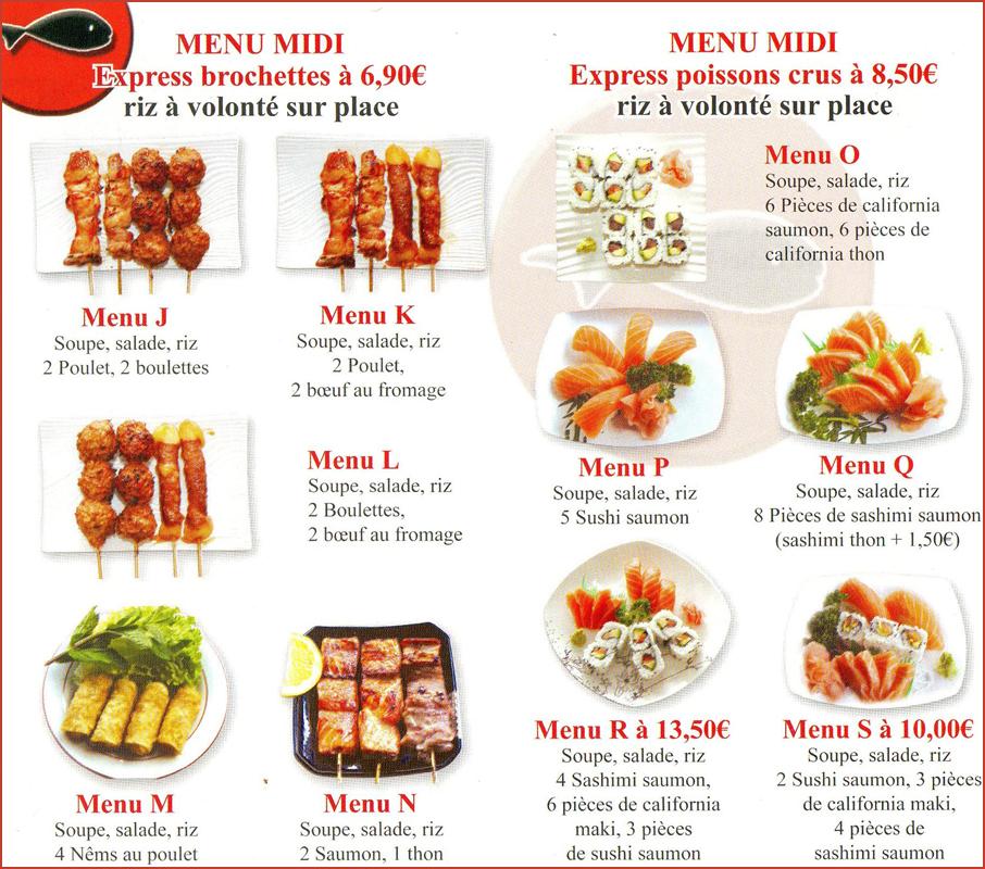 Toyama Restaurant Japonais Boulogne