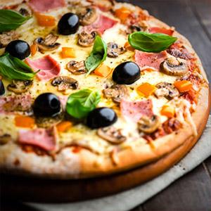 Pizzas livrées à domicile et au bureau